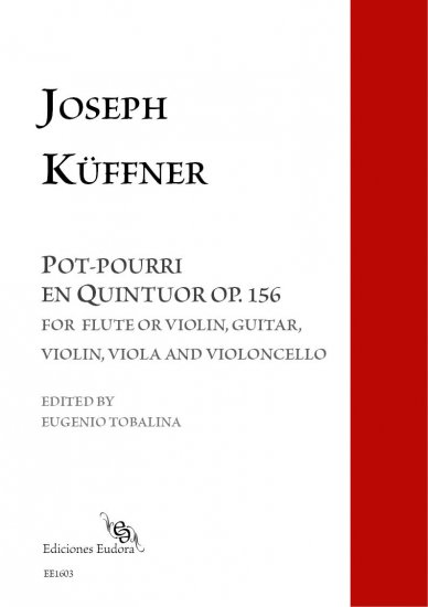 Pot-pourri en Quintuor op. 156 - Click Image to Close